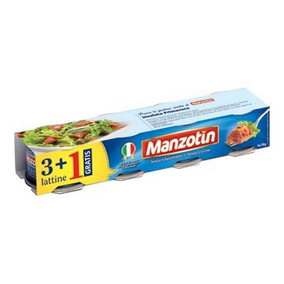MANZOTIN CARNE GR.70 X 3+1