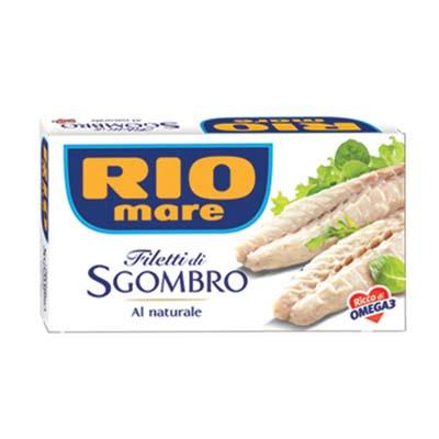 RIO MARE FILETTI SGOMBRO GR.125 NATURALE