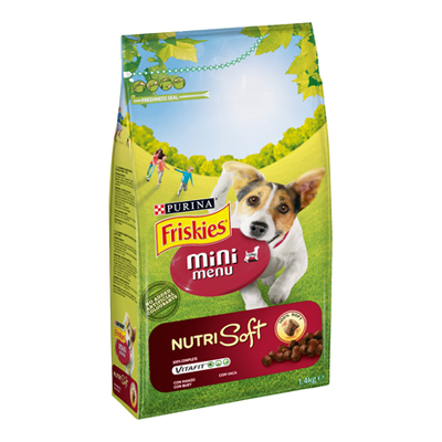 FRISKIES NUTRISOFT MINI MANZODOG KG.1,4