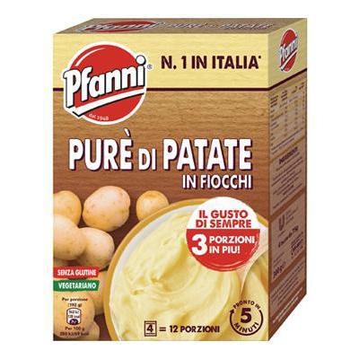 PFANNI PURE'DI PATATE IN FIOCCHI GR.75X4