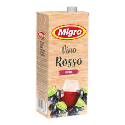 MIGRO VINO BRICK ROSSO 10,5� LT.1