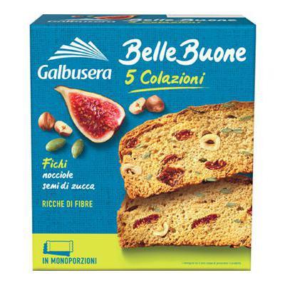 GALBUSERA GR.200 FETTE BISCOTTATE FICHI NOCCIOLE  BELLEBUONE
