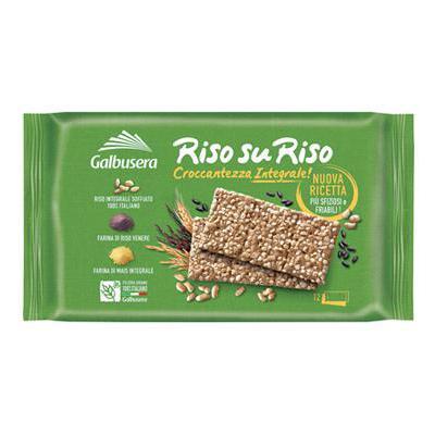 GALBUSERA RISOSURISO CRACKERSINTEGRALI GR.380