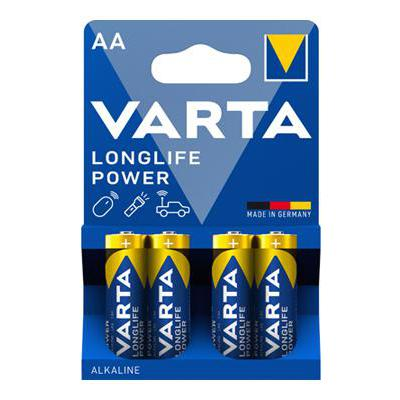 VARTA STILO ALCALINE 4 PZ LONGLIFE POWER