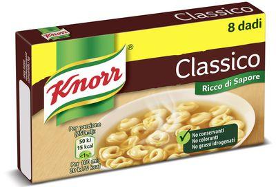 KNORR DADO CLASSICO X 8 CUBI
