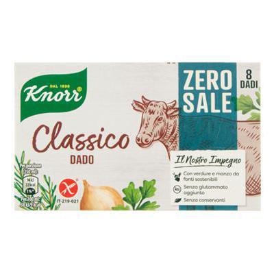 KNORR DADO CLASSICO X8 CUBI ZERO SALE