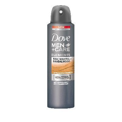 DOVE DEO SPRAY MEN 150 TALCO&SANDALO