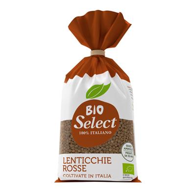 SELECT BIO GR.400 LENTICCHIE ROSSE CELLOPHANE