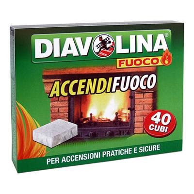 DIAVOLINA ACCENDIFUOCO X 40 PZ.