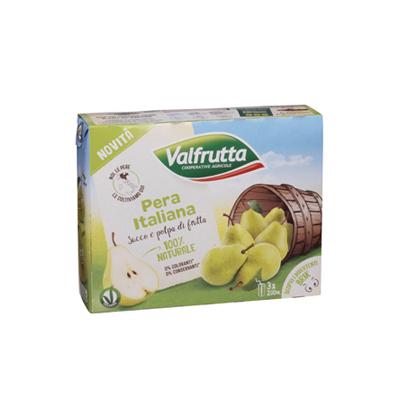 VALFRUTTA ML.200X3 PERA