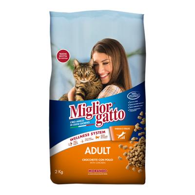 MIGLIOR GATTO CROCCANTINI KG.2POLLO/TACCHINO