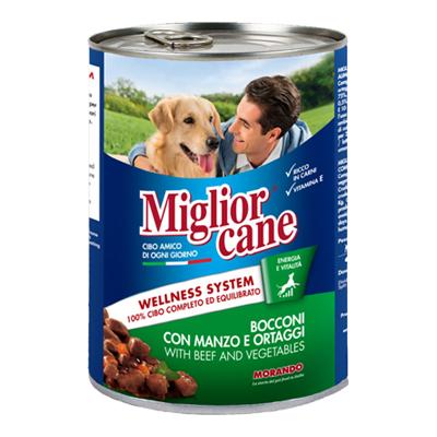 MIGLIOR CANE BOCCONCINI GR405MANZO/ORTAGGI