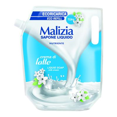 MALIZIA ECORICARICA SAPONE LIQUIDO LATTE LT.1