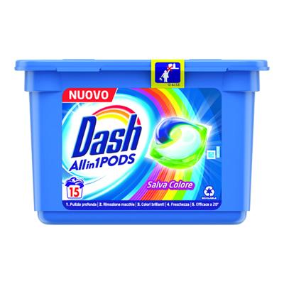 DASH COLOR TUTTO IN1 X 15 PODS