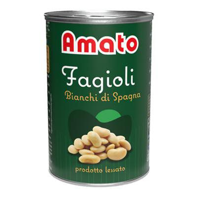 AMATO FAGIOLI SPAGNA GR.400LATTINA A