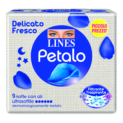 LINES PETALO ULTRA NOTTE X9
