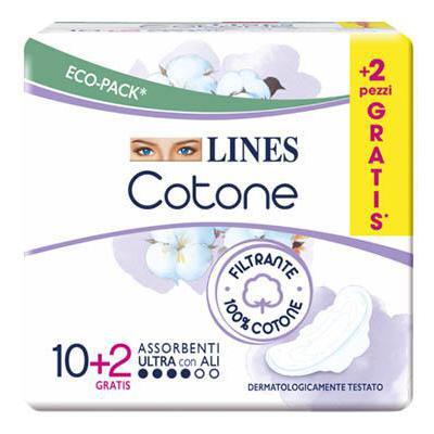 LINES COTONE ULTRA ALI X10
