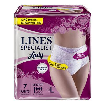 LINES SPECIALIST PANTS DISCREET TAGLIA L X8