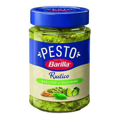 BARILLA PESTO RUSTICO BASILICOE ZUCCHINE GR.200