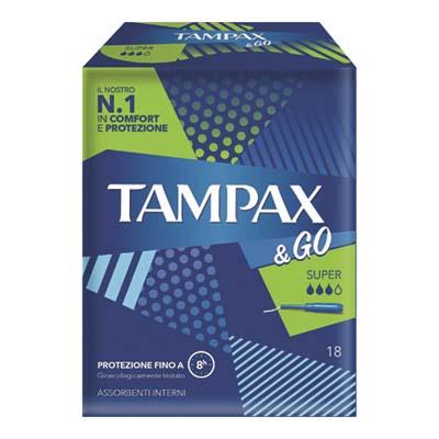 TAMPAX & GO SUPER X18