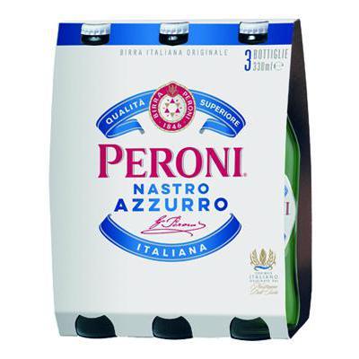 BIRRA NASTRO AZZURRO CL.33X3 5,1°