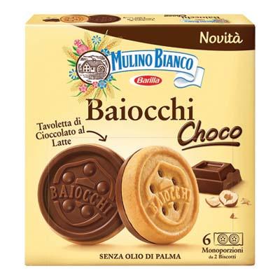 MULINO BIANCO BAIOCCHI CACAO MONOPORZIONE X6