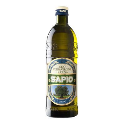 SAPIO OLIO EXTRA VERGINE DI OLIVA LT.1 BOTTIGLIA COMUNITARIO