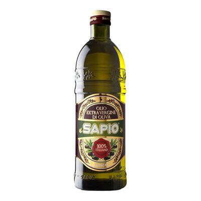 SAPIO OLIO EXTRA VERGINE DI OLIVA LT.1 100% ITALIANO