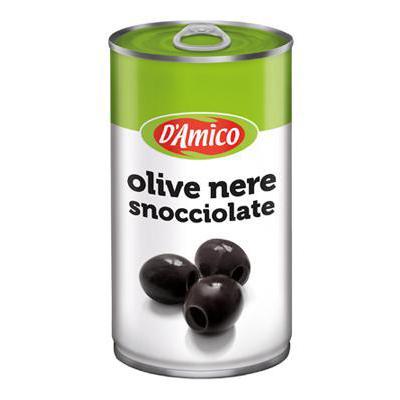 D'AMICO OLIVE NERE SNOCCIOLATELATTA GR350