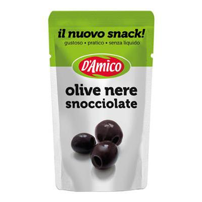 D'AMICO OLIVE NERE SNOCCIOLATEBUSTA SNACK GR.75