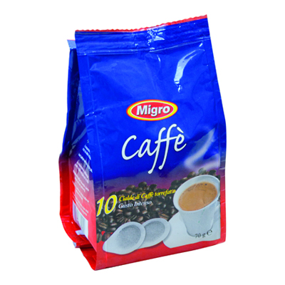MIGRO CAFFE'X10 CIALDE BUSTA