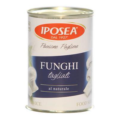IPOSEA FUNGHI CHAMPIGNON TAGLIATI NATURALE GR.380