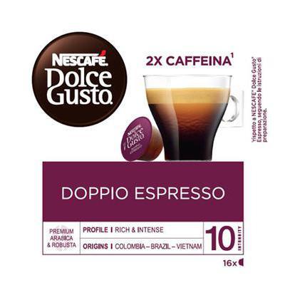 NESCAFE DOLCE GUSTO X16 CAPS DOPPIO ESPRESSO