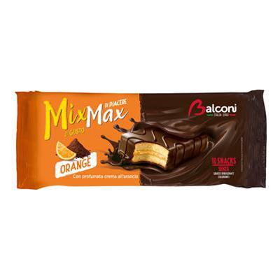 BALCONI CHOCO ORANGE X10 GR.350