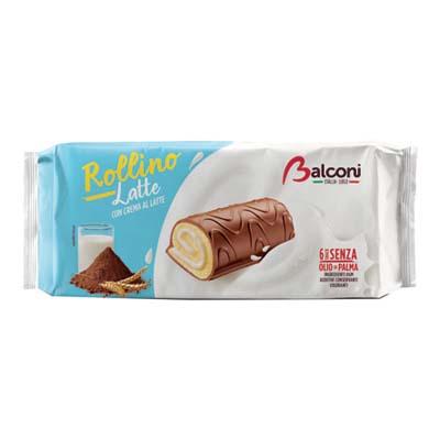 BALCONI ROLLINO AL LATTE X 6 GR.222