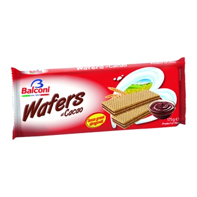BALCONI WAFER GR.175 CACAO