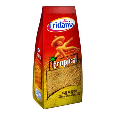 ERIDANIA ZUCCHERO TROPICAL CASSONADE KG.1 ASTUCCIO