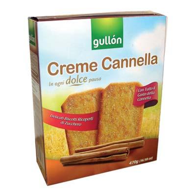 GULLON CREME CANNELLA GR.470