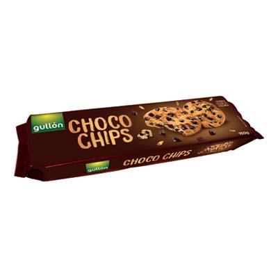 GULLON CHOCO CHIPS FONDENTE GR.150