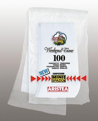 ARISTEA FORCHETTE BIANCHE X100