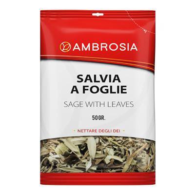 AMBROSIA BUSTA GR.50 SALVIA FOGLIE