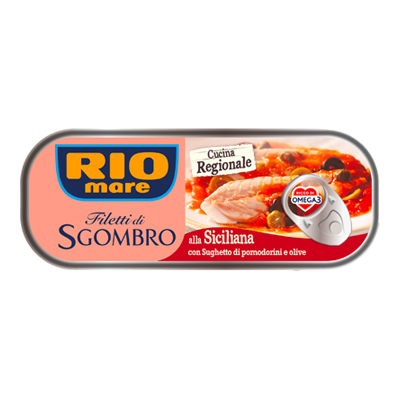 RIO MARE FILETTI DI SGOMBRO ALLA SICILIANA GR.120