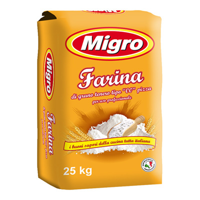MIGRO FARINA KG.25 PIZZA TIPO