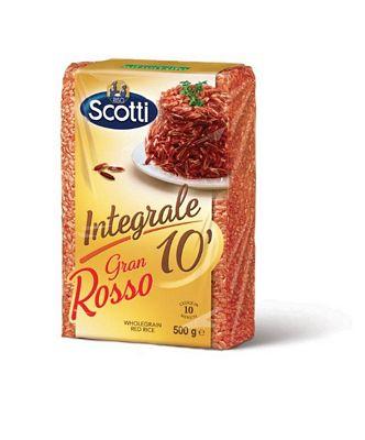 SCOTTI RISO ASTUCCIO INTEGRALEGR.500 ROSSO