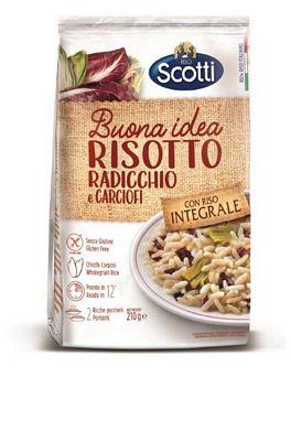 SCOTTI RISOTTO RADICCHIO CARCIOFI GR.210 INTEGRALE