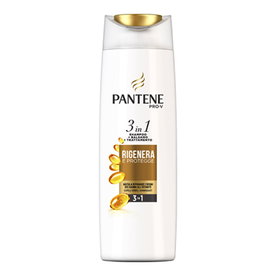 PANTENE SHAMPOO RIGENERA & PROTEGGE 3IN1 ML.225
