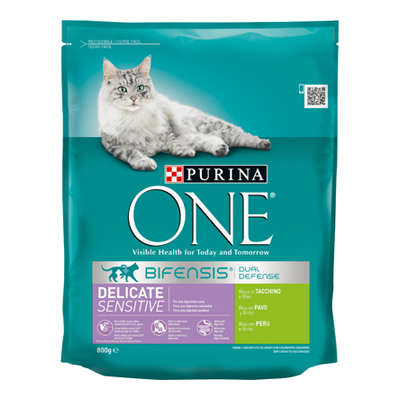 ONE CAT DELICATE TACCHINO GR.800