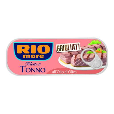 RIO MARE FILETTI DI TONNO GRIGLIATO OLIO O.GR.120