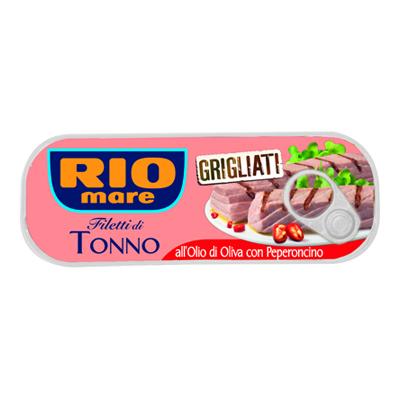 RIO MARE FILETTO DI TONNO GRIGLIATO HOT GR.120
