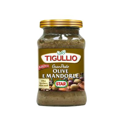 STAR PESTO TIGULLIO OLIVE E MANDORLE GR.190